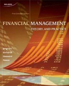 Test Bank for Financial Management, 1st Canadian Edition: Brigham