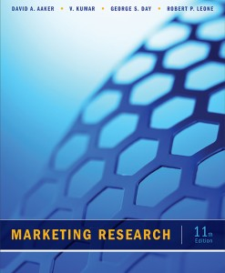 Test Bank for Marketing Research, 11th edition by David A. Aaker, V. Kumar, George S. Day and Robert P. Leone