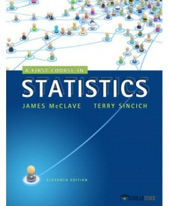 Test Bank for A First Course in Statistics, 11/E 11th Edition : 0321891929