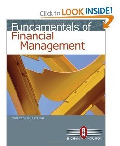 Solution manual for Fundamentals of Financial Management Brigham Houston 13th edition