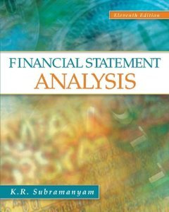 Solution manual for Financial Statements Analysis Subramanyam Wild 11th edition
