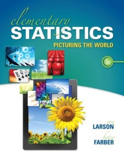 Elementary Statistics Picturing the World Larson 6th Edition Test Bank
