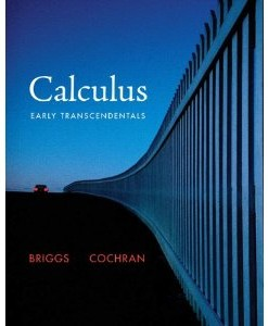 Test Bank for Calculus Early Transcendentals: Briggs Cochran