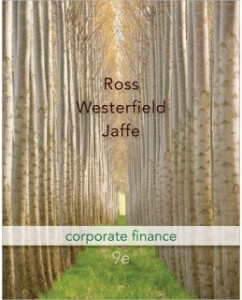 Test Bank for Corporate Finance, 9th Edition: Stephen A. Ross