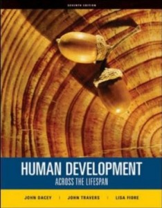 Test Bank for Human Development Across the Lifespan, 7th Edition : Dacey