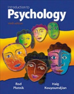 Test Bank for Introduction to Psychology, 9th Edition: Plotnik