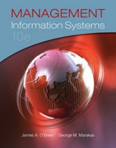 Test Bank for Management Information Systems, 10th Edition: OBrien