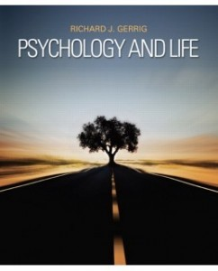 Test Bank for Psychology and Life, 20th Edition: Richard J. Gerrig