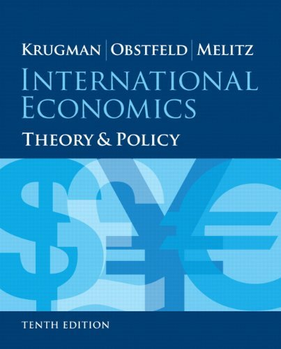 International Economics Theory and Policy Krugman 10th Edition Test Bank