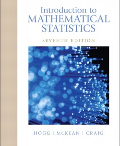 Solution Manual for Introduction to Mathematical Statistics, 7/E 7th Edition Robert V. Hogg, Joeseph McKean, Allen T Craig