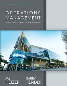 Solution manual for Operations Management Heizer Render 11th edition