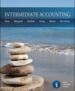 Solution manual for Intermediate Accounting Kieso Weygandt Warfield Young Wiecek McConomy 10th Canadian Edition Volume 1