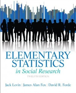 Elementary Statistics in Social Research Levin 12th Edition Test Bank