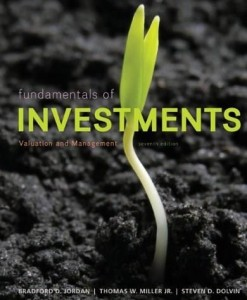 Fundamentals of Investments Valuation and Management Jordan 7th Edition Test Bank