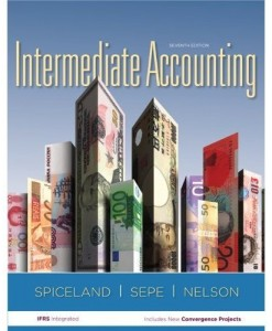 Intermediate Accounting Spiceland 7th Edition Solutions Manual