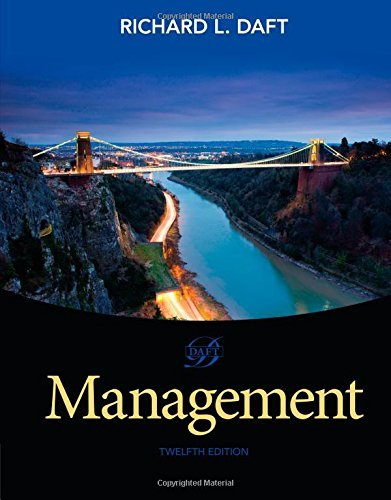 Management Daft 12th Edition Test Bank