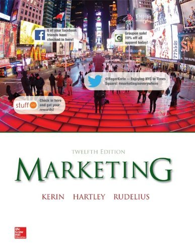 Marketing Kerin 12th Edition Test Bank