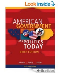 Instructor Manual For Cengage Advantage Books: American Government and Politics Today, Brief Edition, 2014-2015, 8th Edition by Steffen