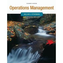 Operations Management Stevenson 11th Edition Test Bank