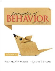Test Bank for Principles of Behavior 7th Edition Richard W Malott