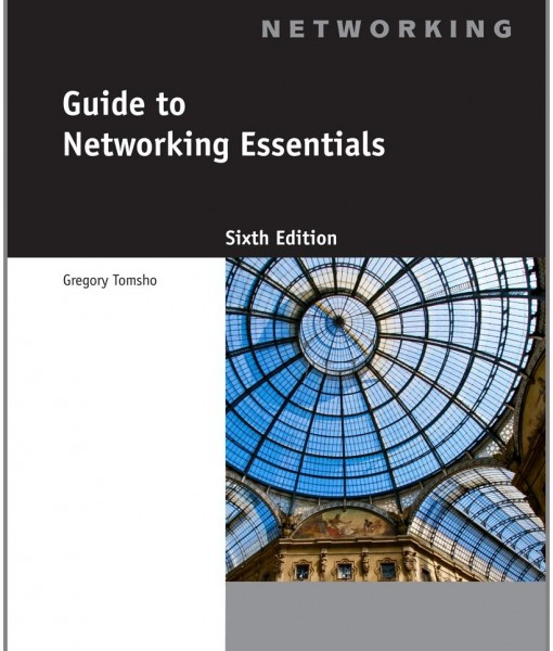 Test Bank for Guide to Networking Essentials 6th Edition by Tomsho