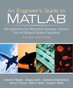 Solution Manual for Engineers Guide to MATLAB, 3/E 3rd Edition