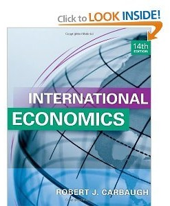 Solution manual for International Economics Carbaugh 14th edition