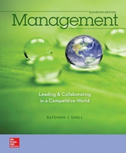 Management Leading and Collaborating in a Competitive World Bateman 11th Edition Test Bank