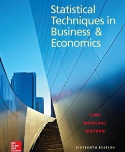 Statistical Techniques in Business and Economics Lind 16th Edition Test Bank
