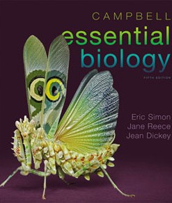 Test Bank for Campbell Essential Biology, 5th Edition: Simon