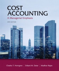 Solution Manual for Cost Accounting, 14th Edition, by Charles T. Horngren, Srikant M. Datar Madhav Rajan