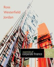 Essentials of Corporate Finance Ross 8th Edition Test Bank
