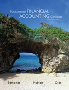 Test Bank for Fundamental Financial Accounting Concepts, 8th Edition: Edmonds