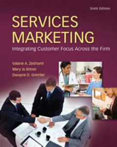 Test Bank for Services Marketing, 6th Edition: Zeithaml