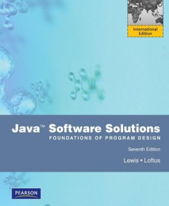 Test Bank for Java Software Solutions 7th Edition (International Edition). John Lewis / William Loftus