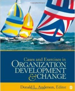 Instructor Manual For Cases and Exercises in Organization Development & Change by Donald L. Anderson