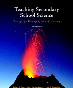 Test Bank for Teaching Secondary School Science: Strategies for Developing Scientific Literacy, 9/E 9th Edition
