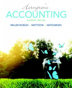 Test Bank Horngrens Accounting 11th Edition Matsumura Miller-Nobles Mattison