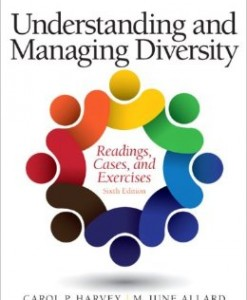 Test Bank Understanding Managing Diversity 6th Edition Harvey Allard