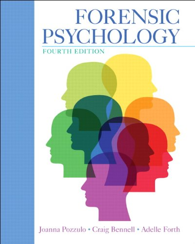 Instructors Manual Forensic Psychology 4th Edition Pozzulo Bennell Forth