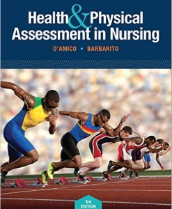 Test Bank Health Physical Assessment Nursing 3rd Edition Damico Barbarito