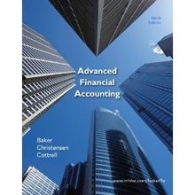 Advanced Financial Accounting Baker Christensen Cottrell 9th Edition Test Bank