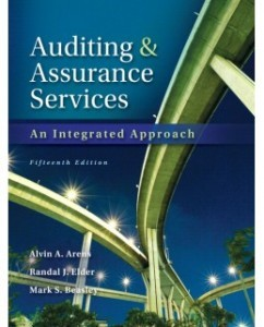 Test Bank for Auditing and Assurance Services, 15th Edition: Alvin A. Arens