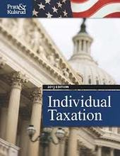 Individual Taxation 2013 Pratt 7th Edition Test Bank