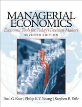 Managerial Economics Keat 7th Edition Test Bank