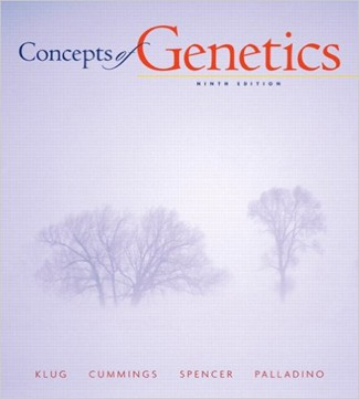 Concepts of Genetics 9th Edition Klug Cummings Spencer Palladino Test Bank