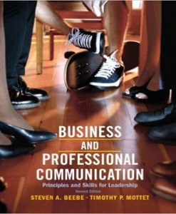 Business & Professional Communication Principles and Skills for Leadership 2nd Edition Beebe Mottet Test Bank