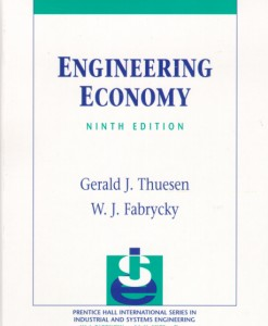 Solution Manual for Engineering Economy, 9/E 9th Edition Gerald J. Thuesen, W.J. Fabrycky
