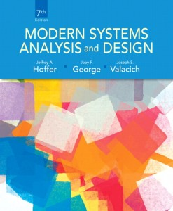 Solution Manual for Modern Systems Analysis and Design, 7/E 7th Edition Jeffrey A. Hoffer, Joey George, Joe Valacich