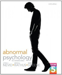 Abnormal Psychology in a Changing World Nevid 9th Edition Test Bank